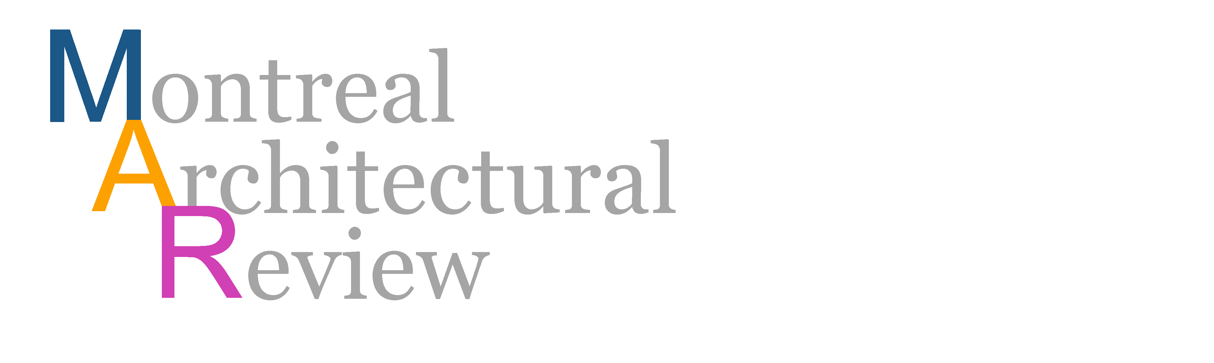 Montreal Architectural Review